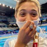 Los mensajes de Delfina Pignatiello tras su estreno olímpico en Tokio 2020: el sueño cumplido y el agradecimiento a su familia