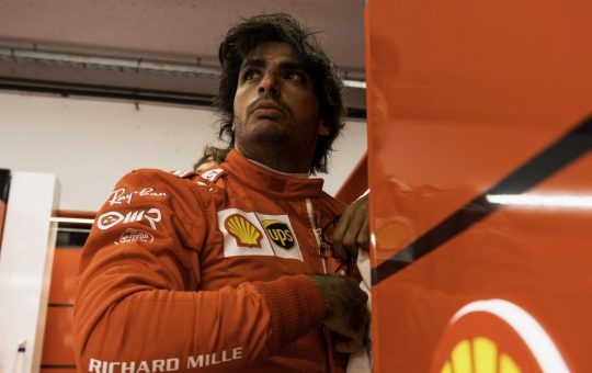 «Pido disculpas, es mi primer error gordo en Ferrari»