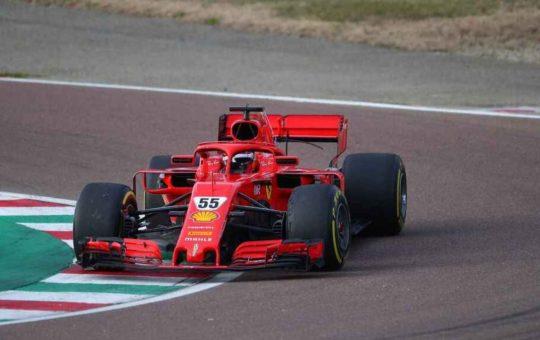Ferrari se pone a prueba