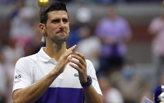 Las lágrimas de Djokovic