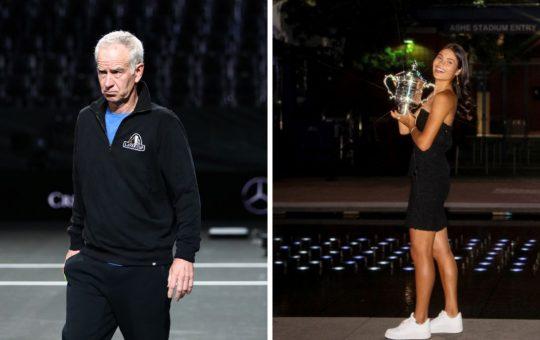 McEnroe justifica sus palabras sobre Raducanu en Wimbledon tras su triunfo en el US Open