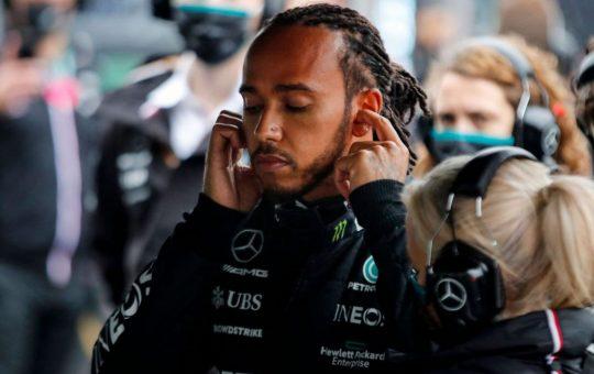 Hamilton pasó de Mercedes: «Déjame en paz»