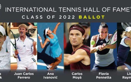 Moyá y Ferrero, nominados para el Salón de la Fama del Tenis