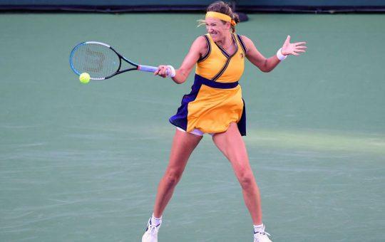 Ostapenko y Azarenka, a semifinales en Indian Wells